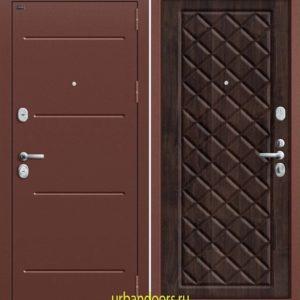 Дверь Грофф P2-204 в цвете темная вишня