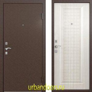 Дверь Бульдорс 10С в цвете лиственница белая СК-3