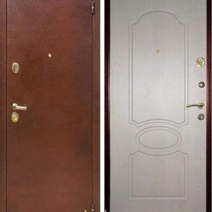 Дверь Лекс 2 в цвете Беленый Дуб