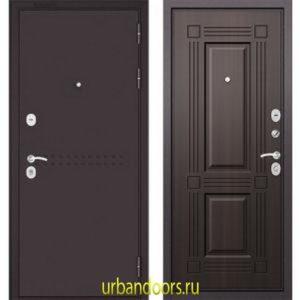 Дверь Бульдорс MASS 90 Ларче темный 9S-104