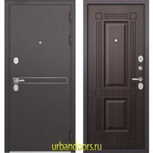 Дверь Бульдорс Standart 90 D-4 Ларче темный 9S-104