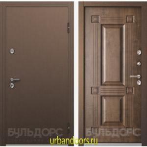 Дверь Бульдорс ТермоБУЛЬ-1 Грецкий Орех