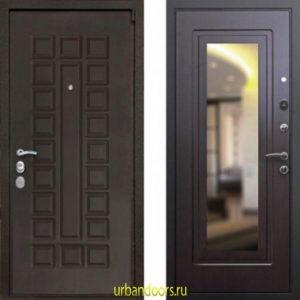 Дверь ReX 4A Зеркало Венге