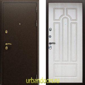Дверь АСД Прометей в цвете беленый дуб