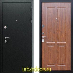 Дверь АСД Прометей 3D в цвете темный орех