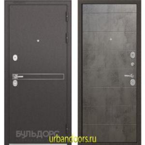 Дверь Бульдорс Standart 90 D-4 Бетон серый 9S-135