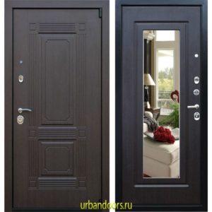 Дверь ReX 9 Зеркало Венге