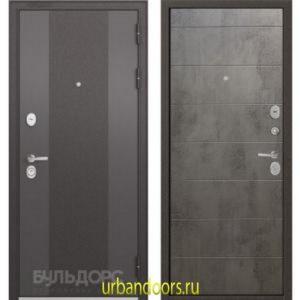 Дверь Бульдорс Standart 90 9K-4 Бетон серый 9S-135