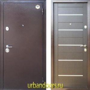 Дверь Бульдорс 13М в цвете венге темный A-14 NEW