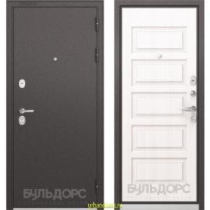 Дверь Бульдорс Standart 90 Дуб белый матовый 9S-108