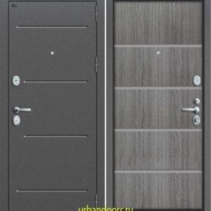 Дверь Грофф Т2-204 в цвете серый дуб