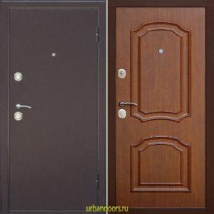 Дверь Континент Интерио в цвете темный орех