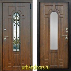 Дверь Йошкар-Ола Лацио 3К в цвете грецкий орех