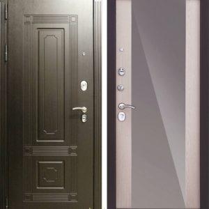 Заводские двери Италия с зеркалом