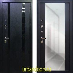 Дверь Йошкар-Ола Персона Гранд-1 Зеркало пол-потолок Венге
