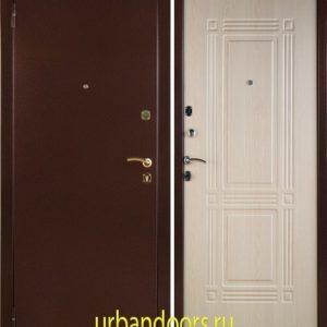 Заводские двери Триумф в цвете Беленый дуб