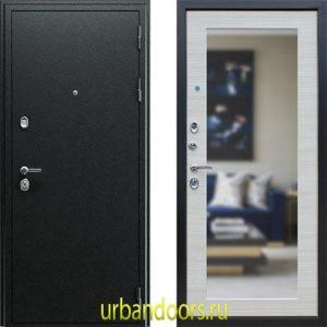 Дверь АСД Next 1 с зеркалом в цвете акация светлая