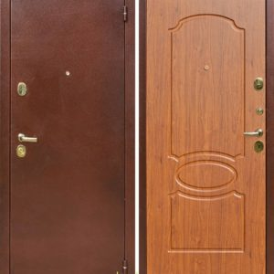 Дверь Лекс 2 в цвете мореная береза