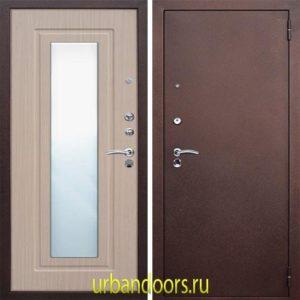 Дверь Бульдорс 14Т в цвете шамбори светлый с зеркалом NEW