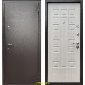Дверь Бульдорс Эконом-3 Ларче бьянко Е-110