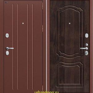 Дверь Грофф P2-201 в цвете темная вишня