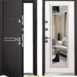 Дверь Мастино Cielo Шамбори светлый (Parko) — Зеркало