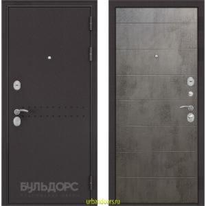 Дверь Бульдорс MASS 90 Бетон темный 9S-135