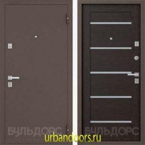 Дверь Бульдорс 13P в цвете темный венге Е-3 NEW