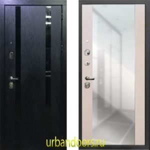 Дверь Йошкар-Ола Персона Гранд-1 Зеркало пол-потолок Сандал белый