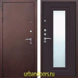 Дверь Йошкар-Ола Царское зеркало в цвете венге