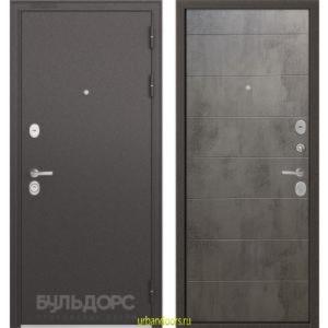 Дверь Бульдорс Standart 90 Бетон серый 9S-135