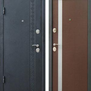 Дверь Континент Эллада в цвете венге