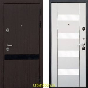 Дверь ReX Премьер Z-2 Вайт (белое стекло)