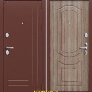 Дверь Грофф P2-200 в цвете тёмный орех
