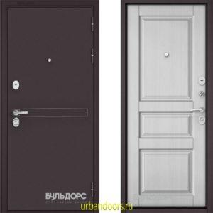 Дверь Бульдорс Standart 90 D-4 Ларче белый 9SD-2
