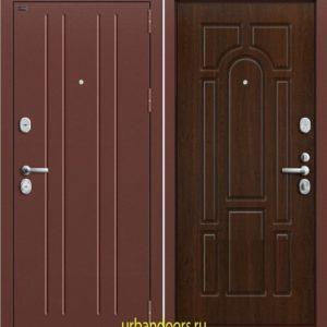 Дверь Грофф P2-203 в цвете тиковое дерево