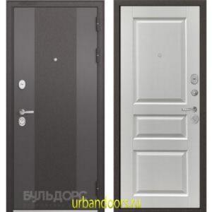 Дверь Бульдорс Standart 90 9K-4 Ларче белый 9SD-2