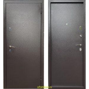 Дверь Бульдорс Steel-3 (металл / металл)