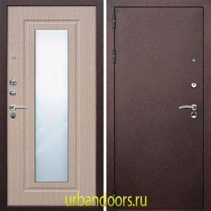 Дверь Йошкар-Ола Царское зеркало в цвете беленый дуб