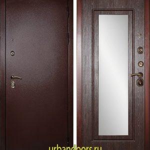 Дверь Сударь МД-09 (с зеркалом)