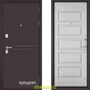 Дверь Бульдорс Standart 90 D-4 Дуб светлый матовый 9S-108