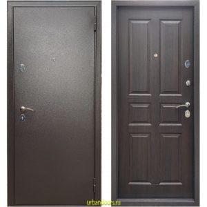 Дверь Бульдорс Эконом-3 Ларче шоколад С-2