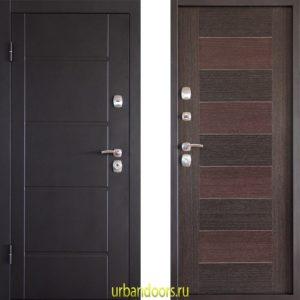 Дверь Континент Прима в цвете серая-мелинг