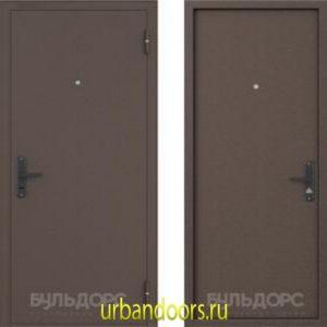 Дверь Бульдорс Stell-1 в цвете медь