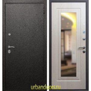 Дверь ReX Верона 6 Зеркало Беленый Дуб