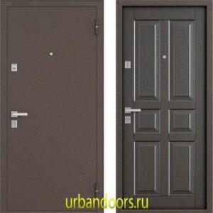 Дверь Бульдорс 12С в цвете орех темный NEW